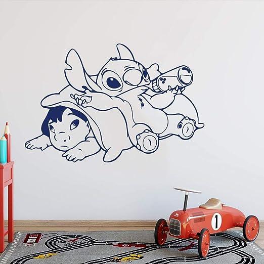 Ohana Lilo y Stitch Adhesivo de Pared Habitación para niños ...