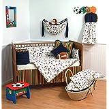 Terra Sutta Touchdown 4 Piece Crib Bedding Set