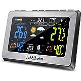 Amazon De Tfa 60 3501 Funk Badezimmeruhr Mit Temperaturanzeige