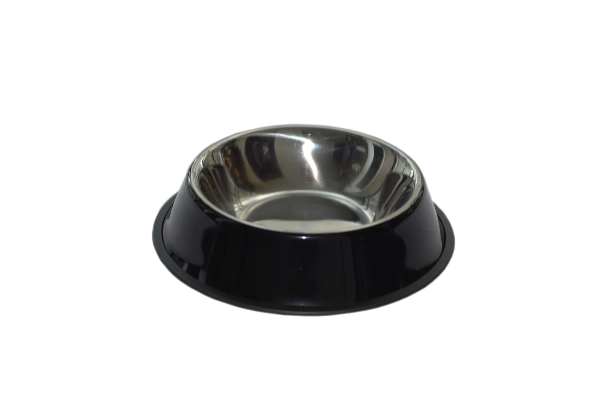 purrrfect life PL17004-B Dog Bowl 32 oz Stainless Steel with Rubber Base