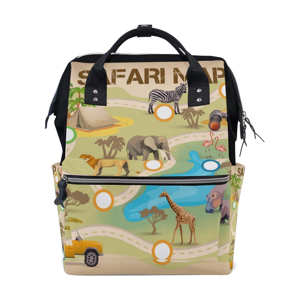 Safari Tote Bag Shopping Bag Diaper Bag