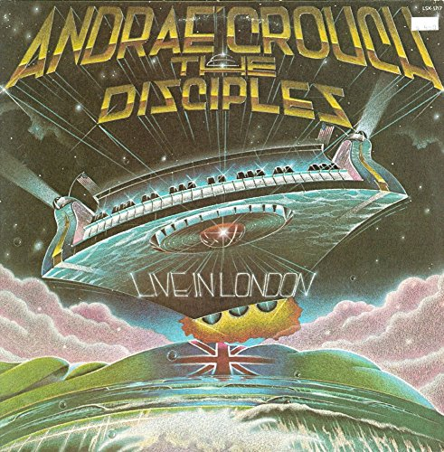 Andrae Crouch & The Disciples - Live In London - Light Records - LSX -5717 - USA - NM/NM LP (Andrae La In Live Crouch)