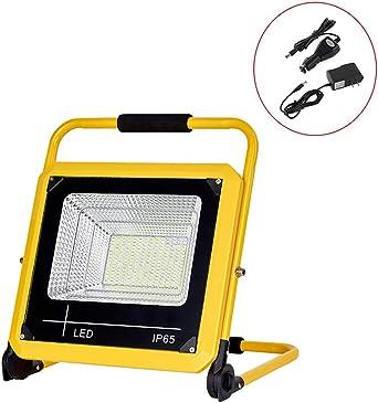 Foco Proyector LED 1500LM, luz de trabajo recargable portátil ...