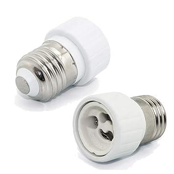10er Set Lampenfassungen Leuchtmittelfassung 230V für Gu10 Hochvolt Leuchtmittel