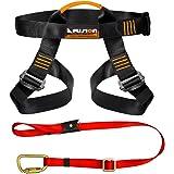 Fusion Climb Pro Backyard Zip Line Kit Harness Lanyard Bundle FK-A-HL-01