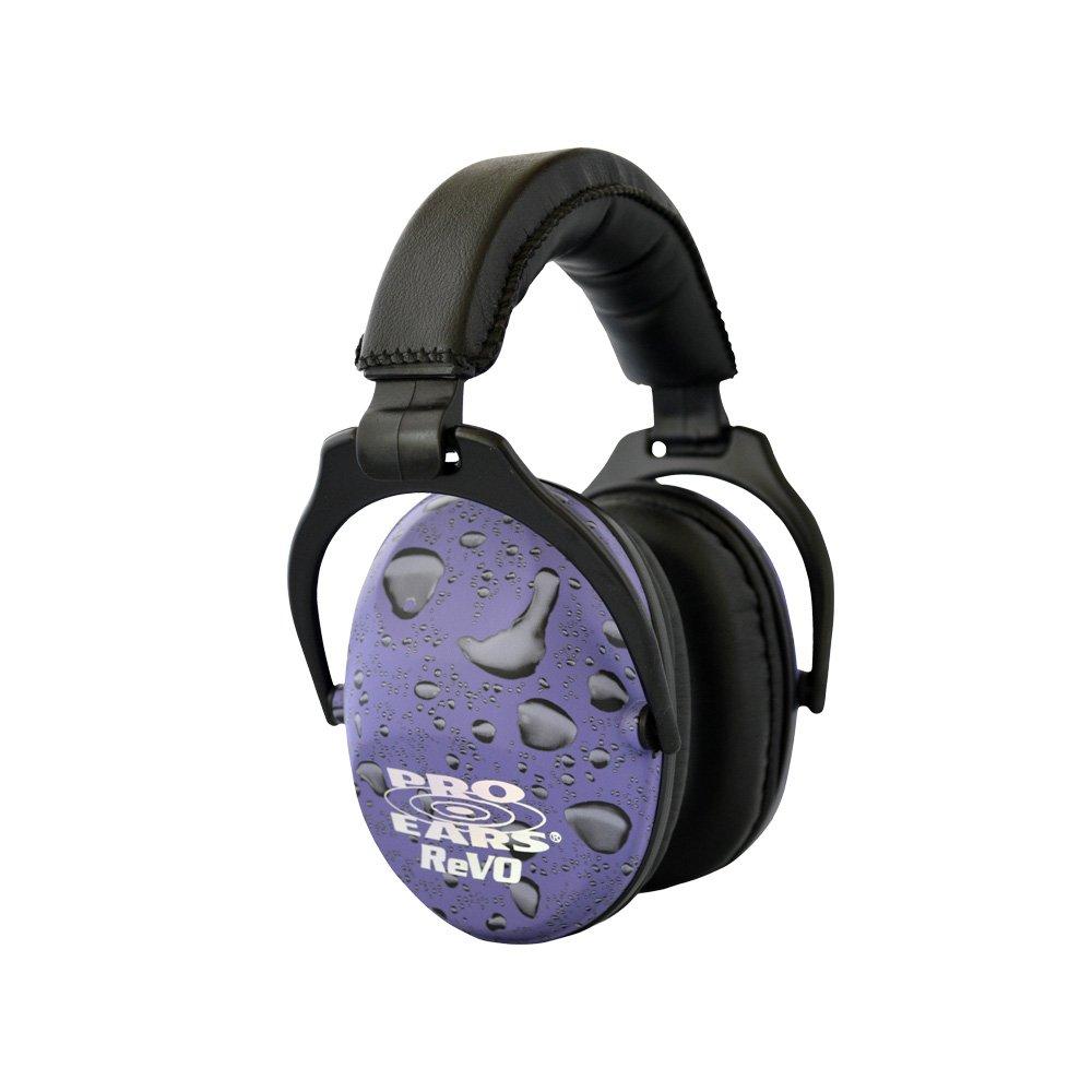 Pro Ears - ReVO - Hearing Protection - NRR 25 - Youth and Women Ear Muffs - Purple Rain
