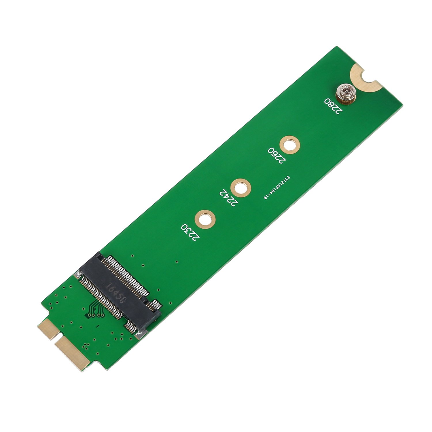 SHINESTAR M.2 NGFF SSD to A1369 A1370 Adapter for 2010 2011 MacBook Air HDD Replacement, Converter Card Support 2230 2242 2260 2280 Solid State Drive by SHINESTAR (Image #2)