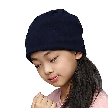 b55516f1444 Butterme Écharpe Snood pour Enfant Écharpe Cache-Cou Beanie Hat Cagoule de  Ski 3-