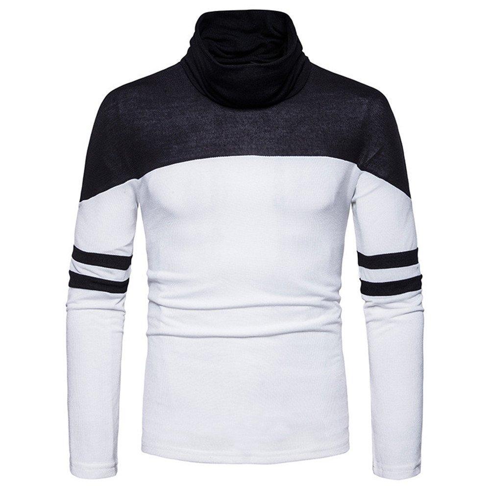 Männer - pullover und farbe collar pullover pullover.,weiße,xl