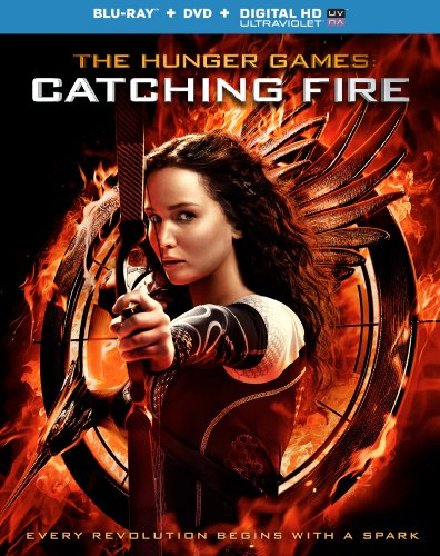 The Hunger Games: Catching Fire [Blu-ray + DVD + Digital -