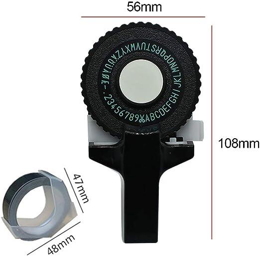 machine /à lettres en plastique /à embosser soi-m/ême free size rose Imprimante d/étiquettes mini 3D cr/éative manuelle pas besoin de piles