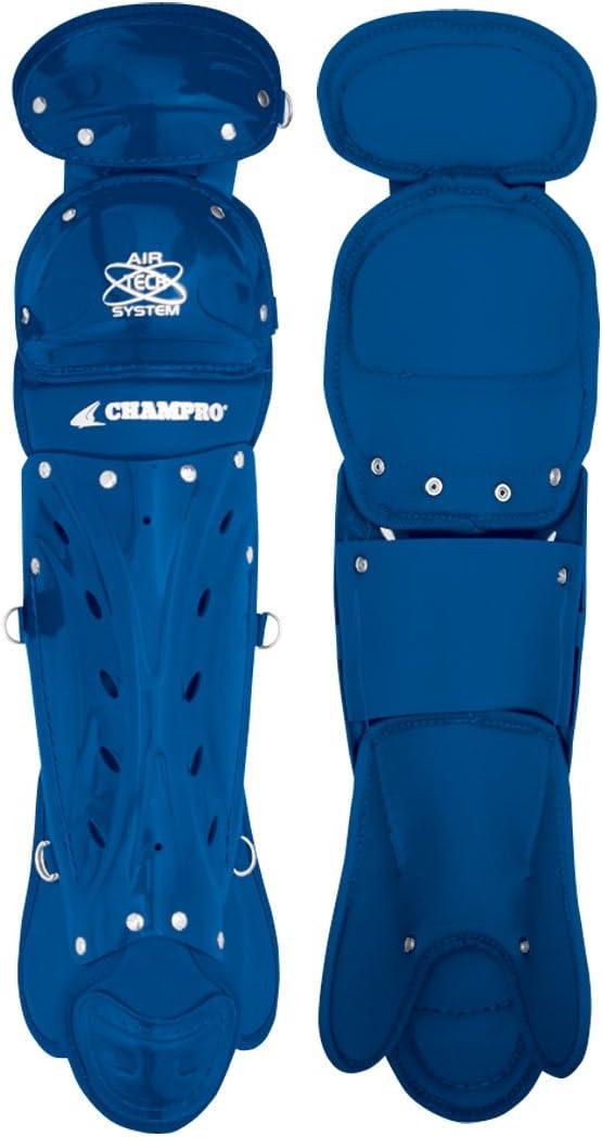 Champro Adult 2膝レッグガード(ロイヤル、16.5インチ)