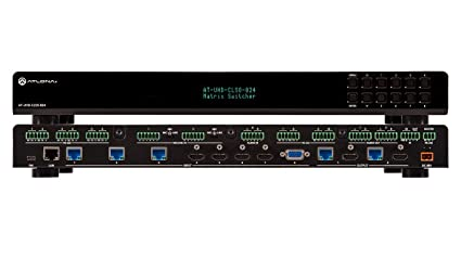 amazon multi-format Amazon.com: Atlona 4K/UHD 8×2 Multi-Format Matrix Switcher with Dual ...