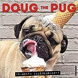 Doug the Pug 2017 Wall Calendar