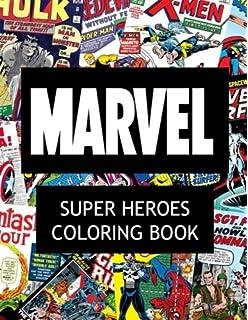 Marvel Super Heroes Coloring Book Hero Wolverine Avengers