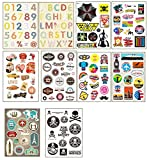 10 PCS Fixed Gear Bicycle Sticker Bikes Decorations Suitcase Sticker-01
