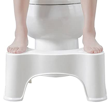 Amazon com: 1 Set Toilet Squat Step Stool Bathroom Potty Aid