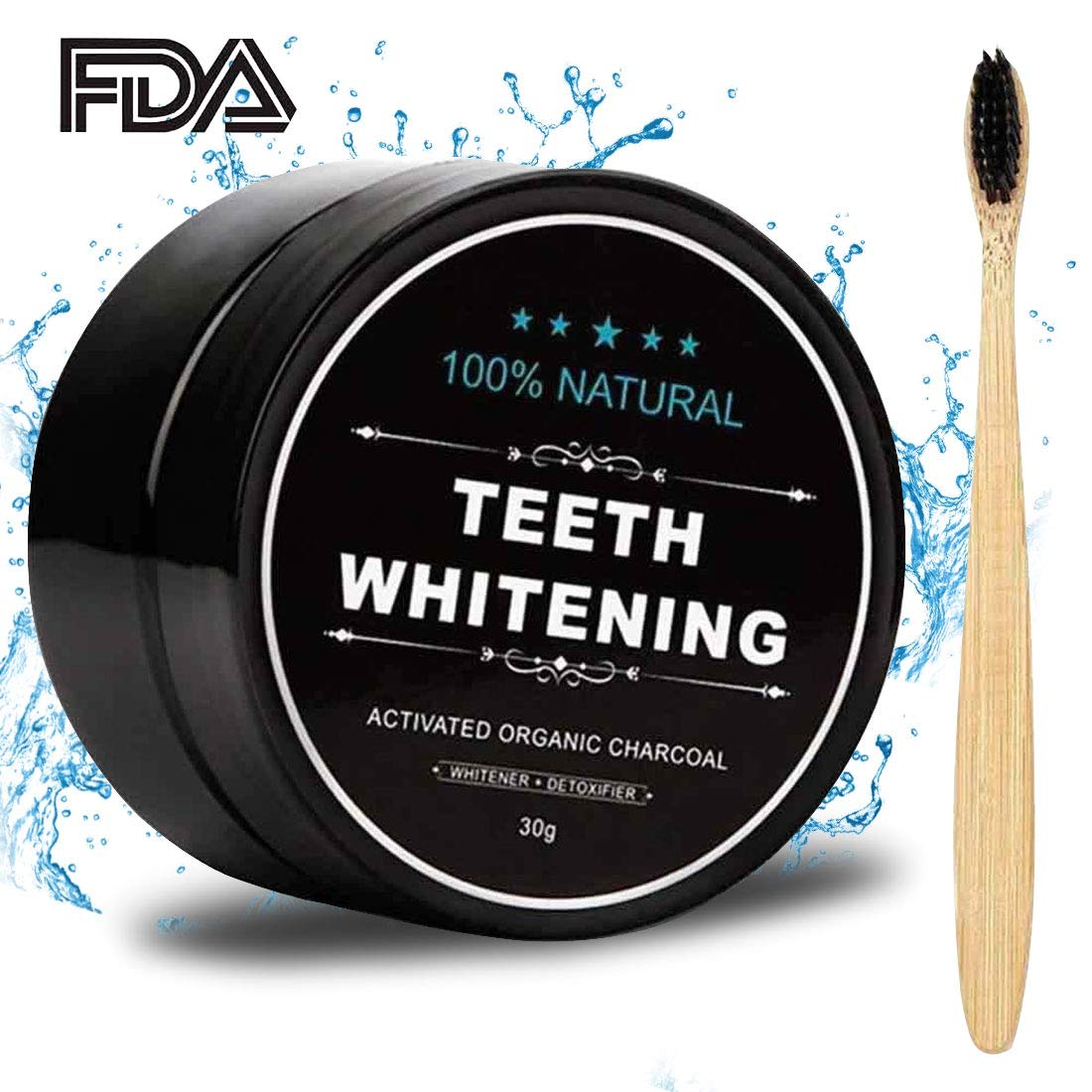 Activated Charcoal Natural Teeth Whitener Motor Brush Replacment A Step By How To Experimental Whitening Powder Proven Safe For Enamel With Bamboo 105 Oz Beauty