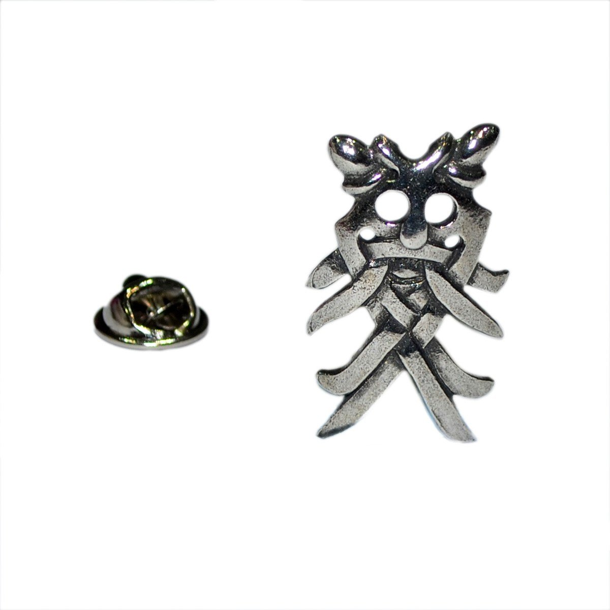 Pin de Solapa La Máscara Vikinga de Odin: Amazon.es: Joyería