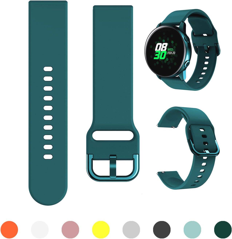 Malla Para Galaxy Watch Active/active2 40mm/44mm verde