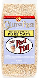 Bob's Red Mill Gluten Free Quick Cooking Oats (400g) - Pack of 6