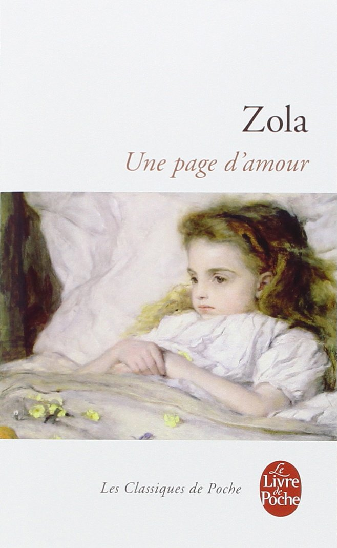 Une Page D Amour Ldp Classiques French Edition Emile
