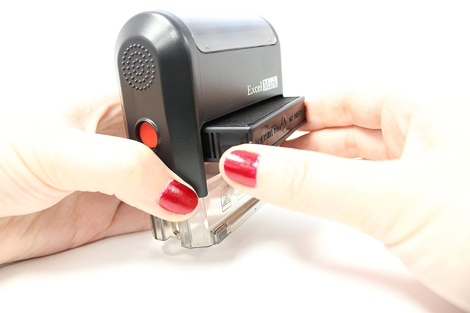 ExcelMark Return To Sender NOT At This Address Self Inking Rubber Stamp