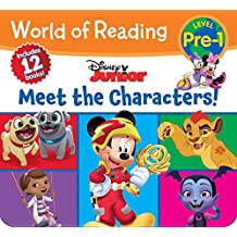 World of Reading Disney Junior Meet the Characters (Pre-Level 1 Box Set)