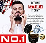 2 IN 1 Quality White Beard Balm Oil Wax - FREE Beard Care Ebook Guide Included - 60g Light Citrus scent, Leave-in Conditioner, Softens, Hold and Beard Growth - Organic For Men - Prophet and Tools