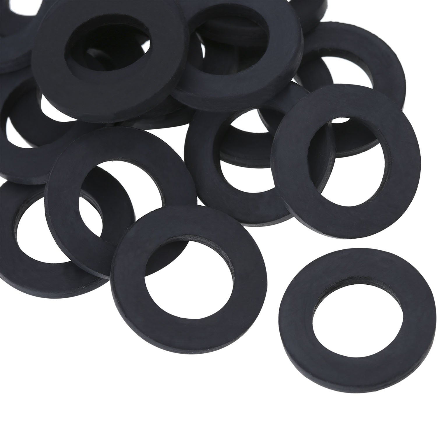 Hotop Shower Hose Washers Rubber Washers Seals for 1/2 Inch Shower Head and Hose, 20 Pack