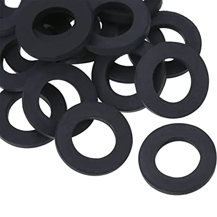 Amazon.com : Hotop Shower Hose Washers Rubber Washers Seals for ...