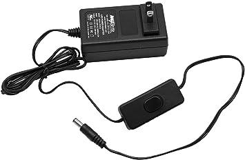 Adaptador de Conector DC barril-Hembra