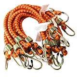 Heavy Duty 18'' x 1/2'' Dia Thick Bungee Cords Tie Down Cord Strap (10-Pc)