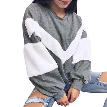 Sudadera de invierno para Mujer, LILICAT Camisa de Manga Larga de la Nueva Cachemira 2017