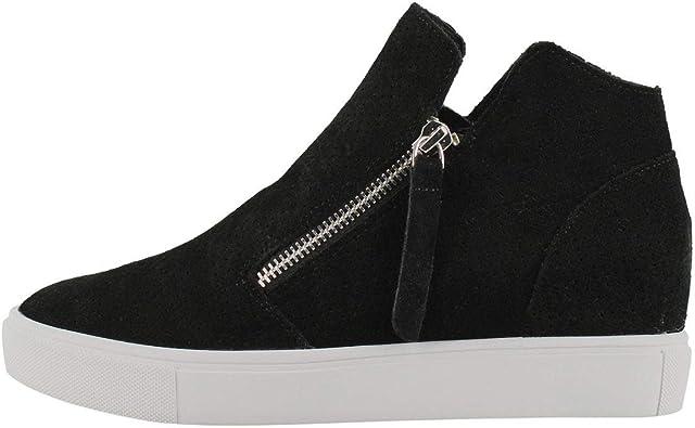 Caliber Hidden Wedge Sneaker Black