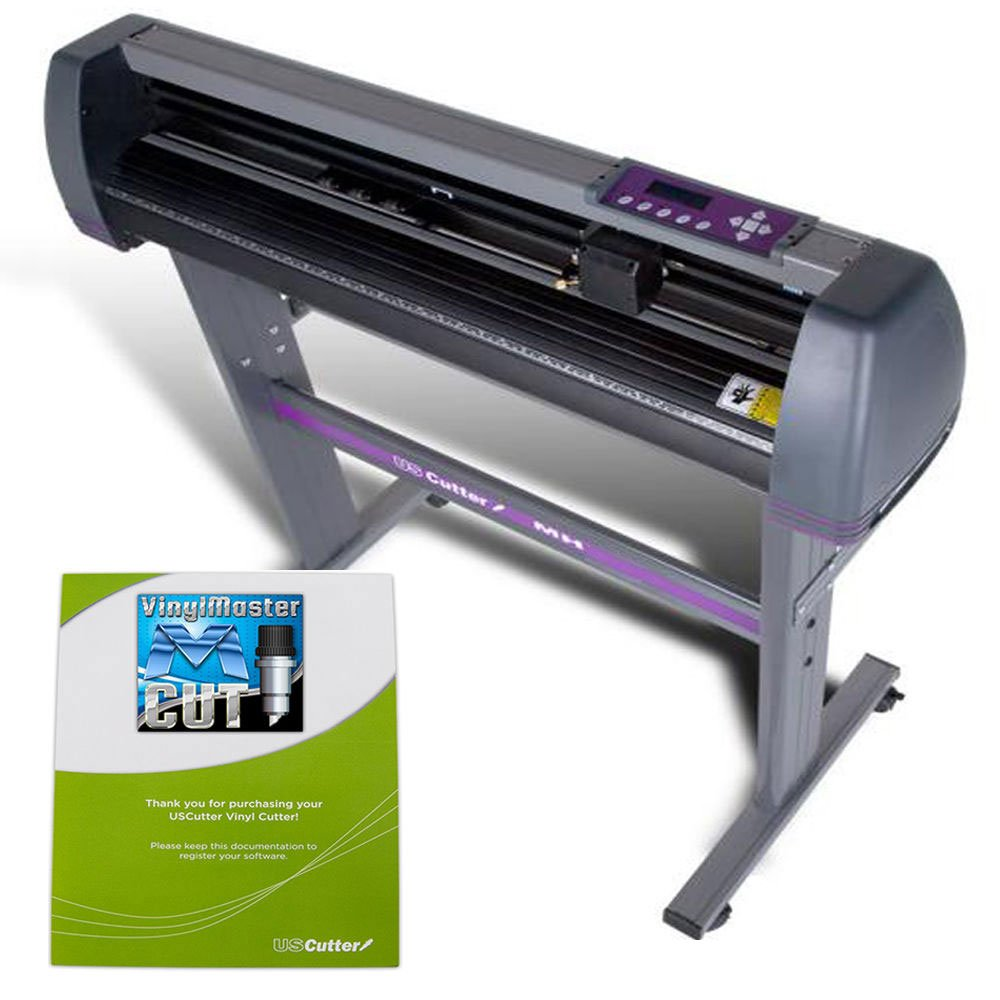 USCutter 34-inch Vinyl Cutter Plotter with Stand and VinylMaster - New Design and Cut Software