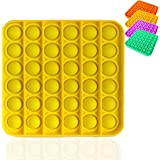 Bdwing Silicona Sensorial Fidget Juguete, Push Pop Bubble Sensory Toy, Autismo Necesidades Especiales Aliviador del…