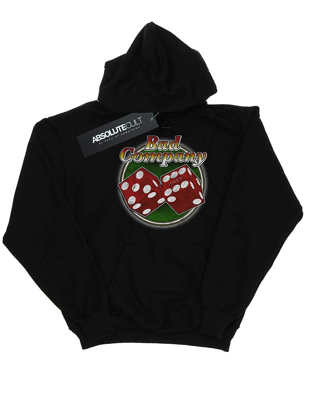 Absolute Cult Bad Company Mens Straight Shooter Dice Hoodie