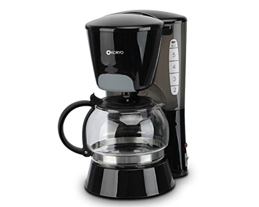 Koryo Coffee Maker KCM64B - Black, 6L