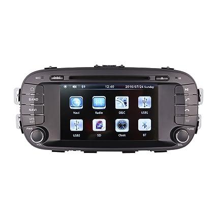 Amazon com: 7 Inch Touch Screen Car GPS Navigation for KIA SOUL 2014