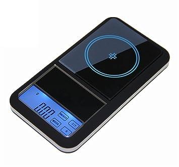 CGOLDENWALL - Báscula digital de bolsillo de alta precisión, 200 g x 0,01 g