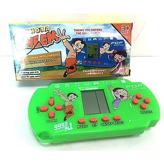 Gfone Classico Tetris Gioco da Console per Console, Mini Console di Gioco, Buon Regalo per Bambini Natale, Regalo di Compleanno 13x6x2.5cm