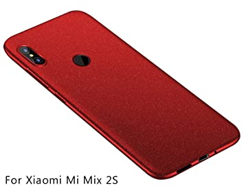 Baanuse Xiaomi Mi Mix 2S Funda, [Ultra Slim Soft TPU] [Sand Scrub ...