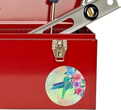 2 x Hummingbird Vinyl Sticker Laptop Travel Luggage Car #6205