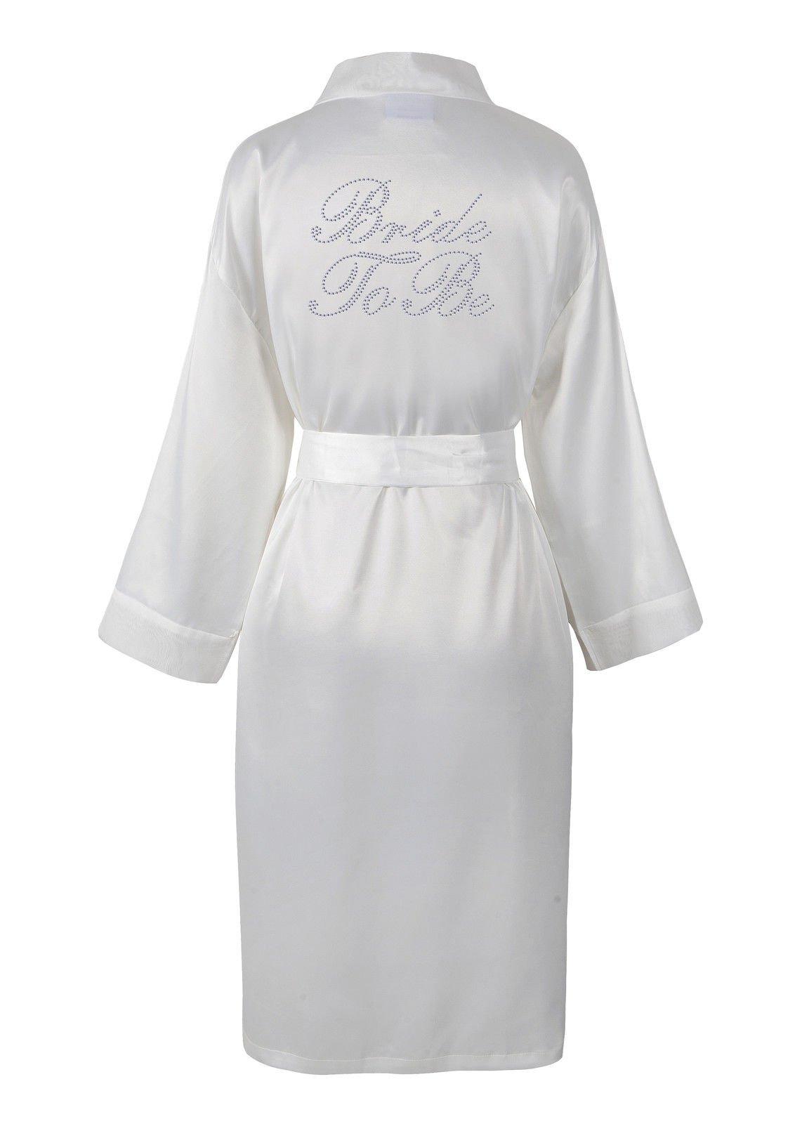 Bride Dressing Gowns: Amazon.co.uk