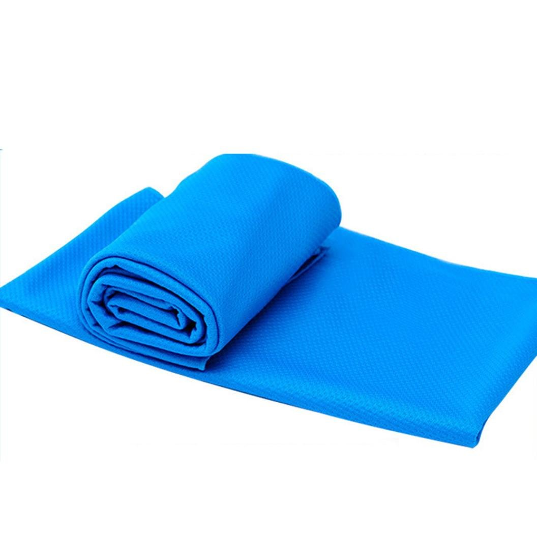 Mr.Macy Bath Towels,Quick Dry-Absorbent-Soft Beach Towel For Bathroom Decoration, Gym Fitness,Yoga,Camping (light blue, Free)