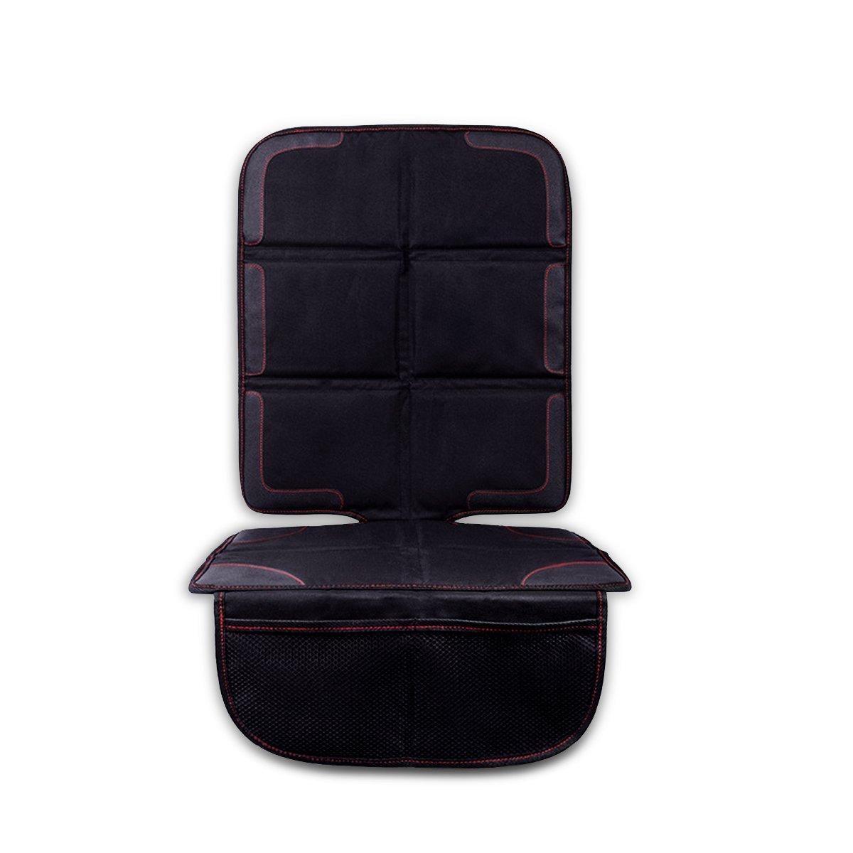 SONARIN Autositzauflage, bietet dicken Schutz fü r Kind & Baby Autos Sitze.Wasserdicht, rutschfest mit Aufbewahrungstaschen, Autositzschutz(Grau)