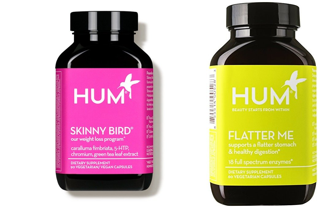 Hum Nutrition Weight Loss Pack! One Bottle of Skinny Bird & One Bottle of Flatter Me Capsules!