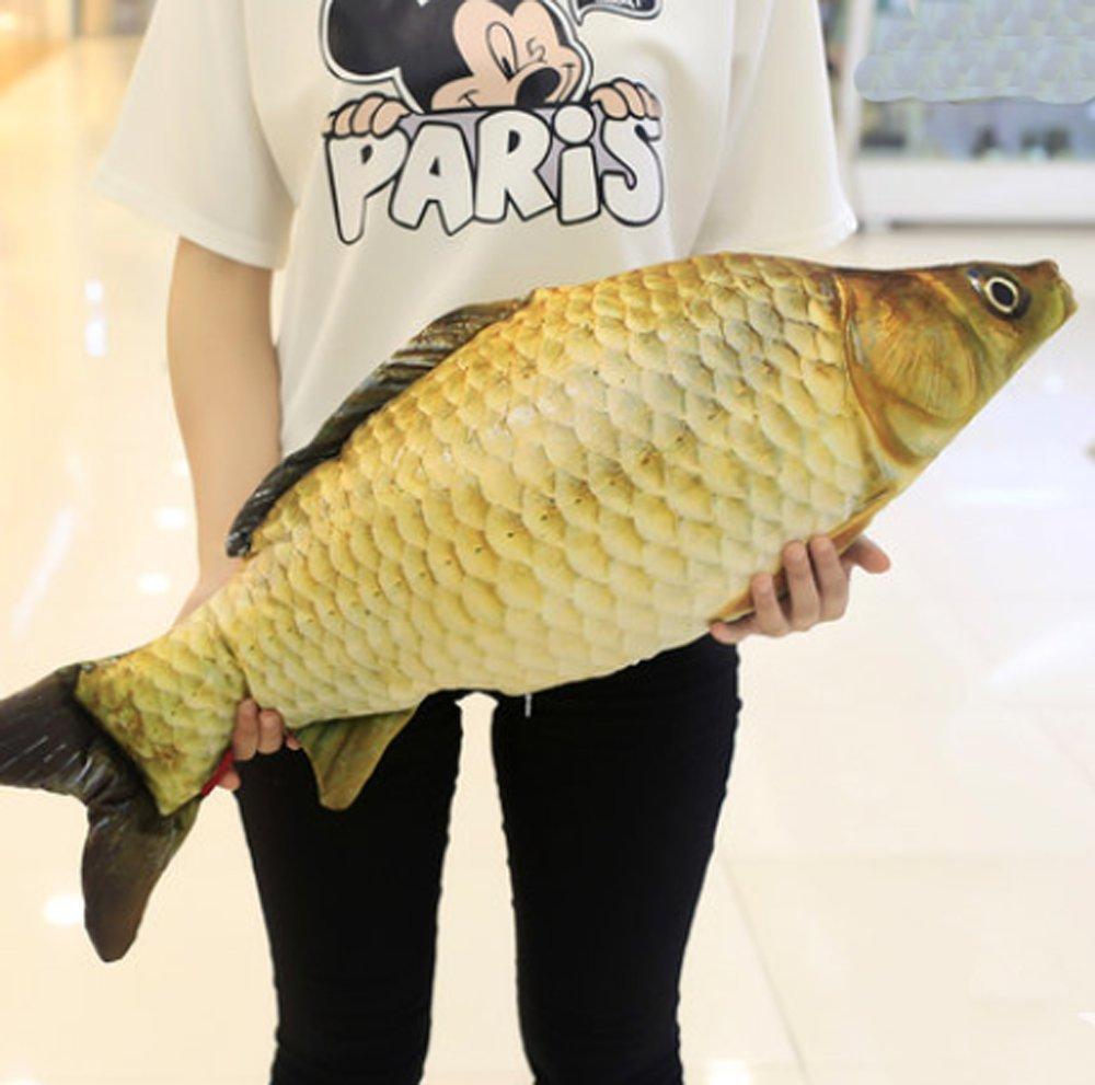 YunNasi Carp Plush Pillow Stuffed Animal Toy 39.3''