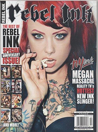 Rebel Ink (Tattoo) Magazine January/February 2012